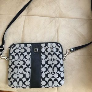 Coach Tablet Carrier With Adjustable Strap